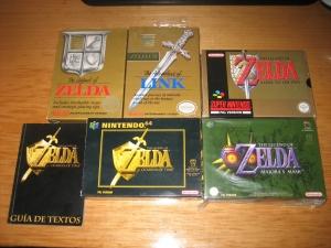 Zeldas de consola de sobremesa (1)