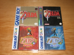 Zeldas de consola portátil (1)